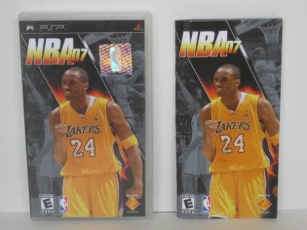 NBA 07 (CASE & MANUAL ONLY) - PSP