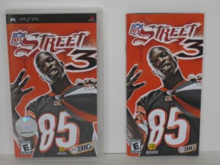 NFL Street 3 (CASE & MANUAL ONLY) - PSP