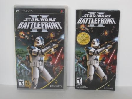Star Wars: Battlefront II (CASE & MANUAL ONLY) - PSP