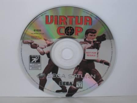 Virtua Cop (DISC ONLY) - Saturn Game