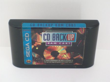 CD Backup RAM Cart - Sega CD Accessory