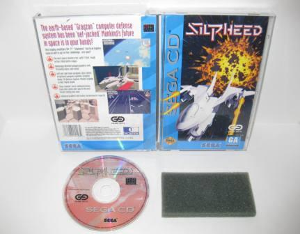Silpheed - Sega CD Game
