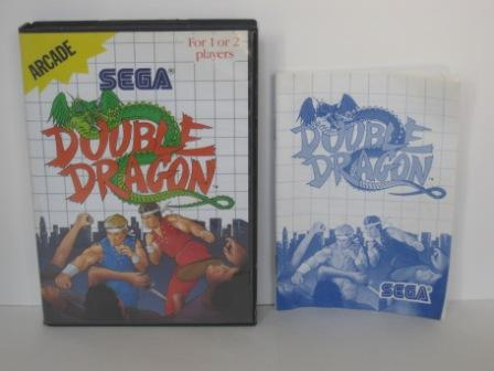 Double Dragon (CASE & MANUAL ONLY) - Sega Master System