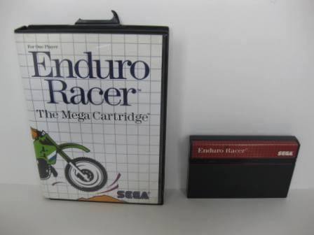 Enduro Racer (Boxed - no manual) - Sega Master System Game