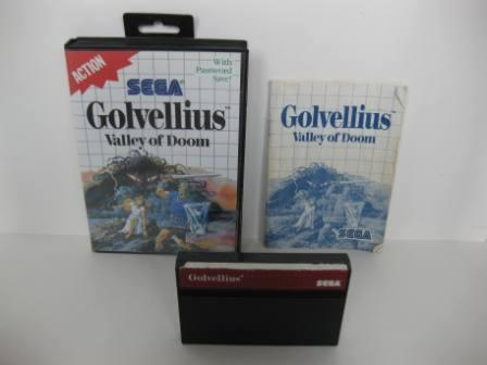 Golvellius: Valley of Doom (CIB) - Sega Master System Game