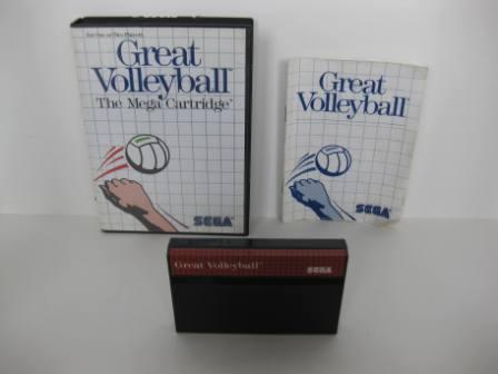 Great Volleyball (CIB) - Sega Master System Game