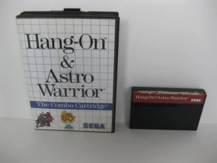 Hang On/Astro Warrior(Boxed/no manual) - Sega Master System Game