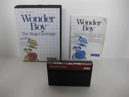 Wonder Boy (CIB) - Sega Master System Game