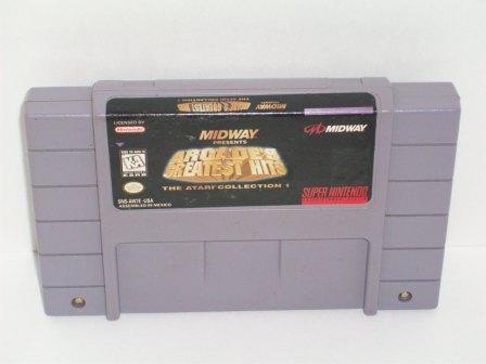 Arcades Greatest Hits: Atari Collection - SNES Game