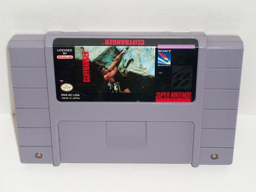 Cliffhanger - SNES Game