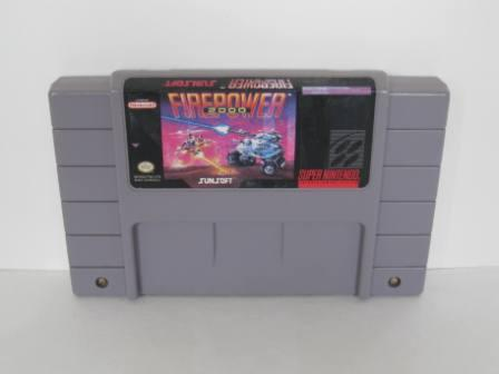 Firepower 2000 - SNES Game