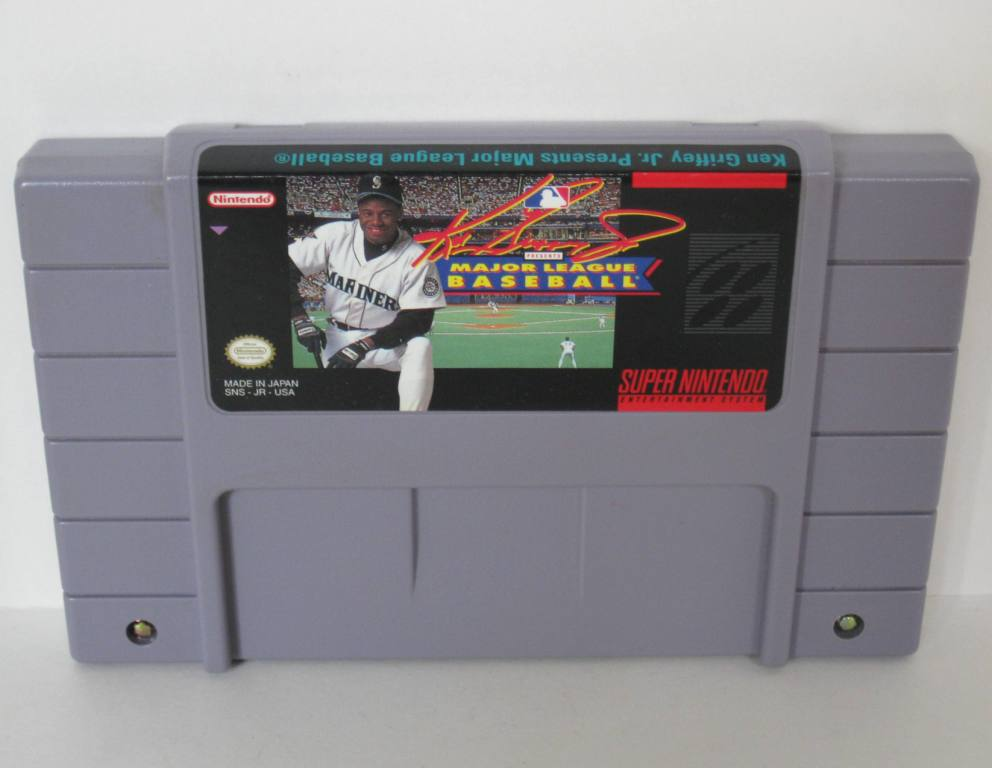 Ken Griffey Jr. Presents MLB - SNES Game