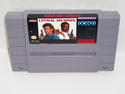 Lethal Weapon - SNES Game