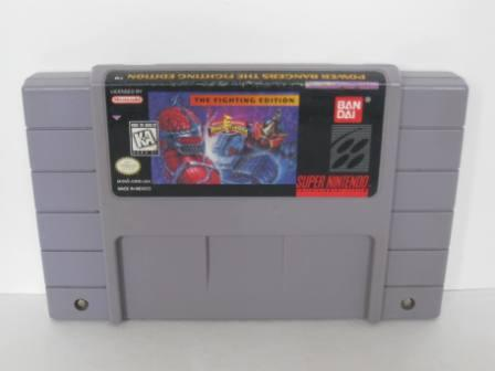 Mighty Morphin Power Rangers: The Fighting Edition - SNES Game