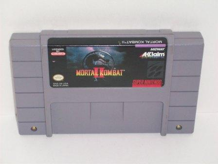 Mortal Kombat 2 - SNES Game