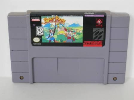 Power Piggs of the Dark Age - SNES Game