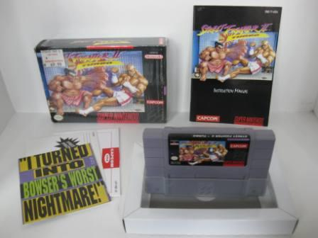 Street Fighter II Turbo (CIB) - SNES Game