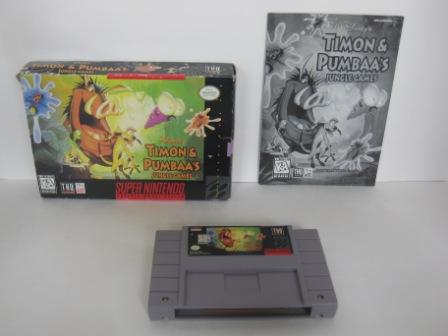 Timon and Pumbaas Jungle Games (CIB) - SNES Game