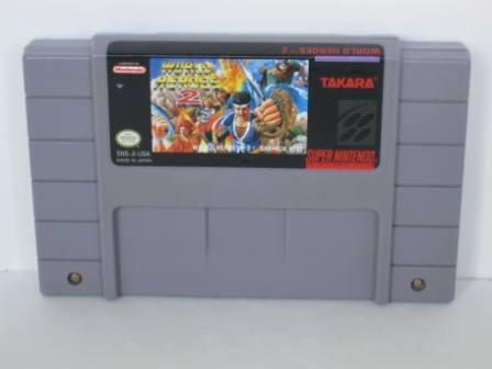 World Heroes 2 - SNES Game