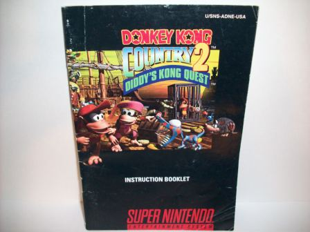 Donkey Kong Country 2 - SNES Manual