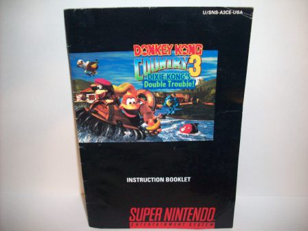 Donkey Kong Country 3 - SNES Manual
