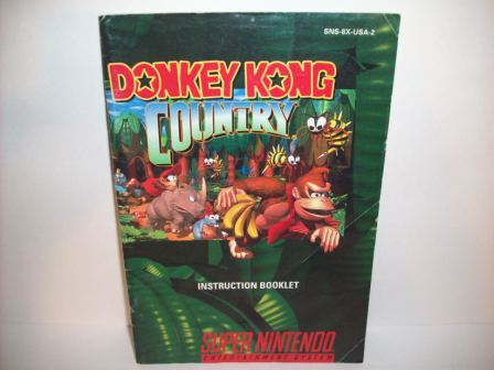Donkey Kong Country - SNES Manual
