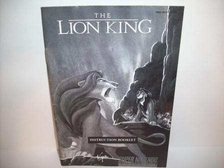 Lion King, The (Disneys) - SNES Manual