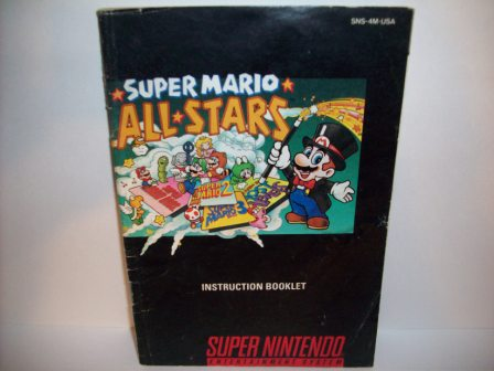 Super Mario All-Stars - SNES Manual