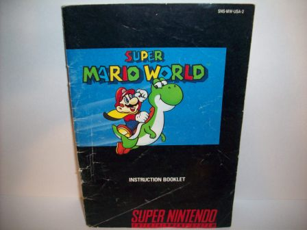 Super Mario World - SNES Manual