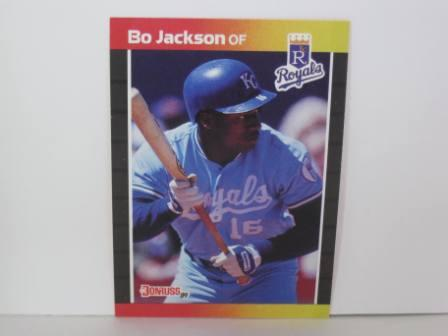 Bo Jackson #208 1989 Donruss Baseball Card