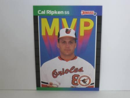 Cal Ripken Jr. MVP #BC-15 1989 Donruss Baseball Card