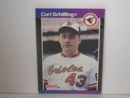 Curt Schilling RC #635 1989 Donruss Baseball Card