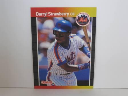 Darryl Strawberry #147 1989 Donruss Baseball Card
