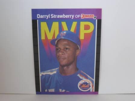 Darryl Strawberry MVP #BC-6 1989 Donruss Baseball Card