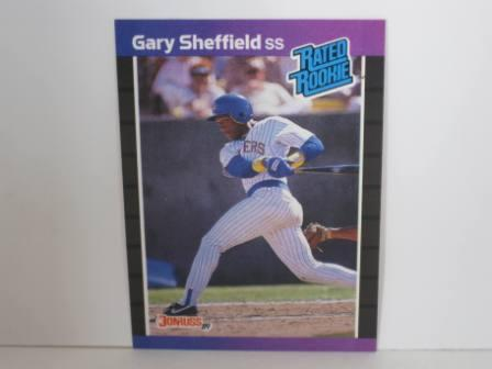 Gary Sheffield RC #31 1989 Donruss Baseball Card