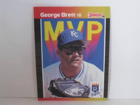 George Brett MVP #BC-7 1989 Donruss Baseball Card