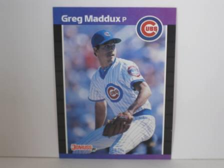 Greg Maddux #373 1989 Donruss Baseball Card