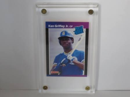 Ken Griffey Jr. RC #33 (w Glass Disp) 1989 Donruss Baseball Card