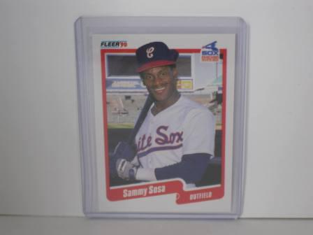 Sammy Sosa RC #548 1990 Fleer Baseball Card