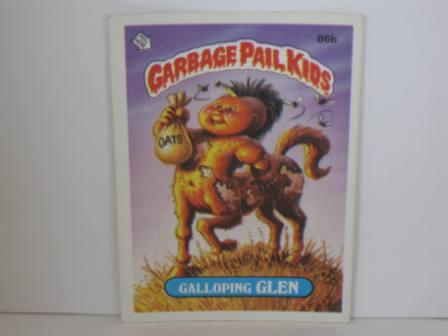 086b Galloping GLEN 1986 Topps Garbage Pail Kids Card