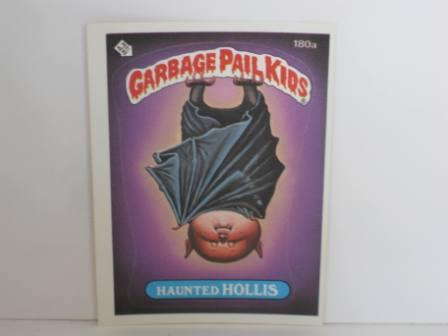 180a Haunted HOLLIS 1986 Topps Garbage Pail Kids Card