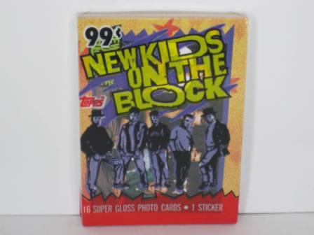 New Kids On The Block Wax Pack R (SEALED) 1989 Topps NKOTB Card