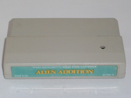 Alien Addition - TI-99/4A Game