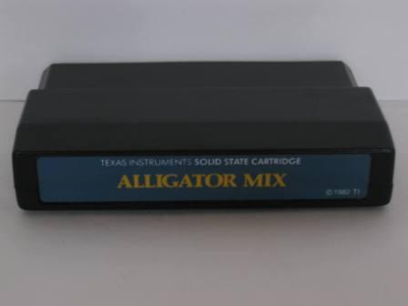 Alligator Mix (Blue Label) - TI-99/4A Game