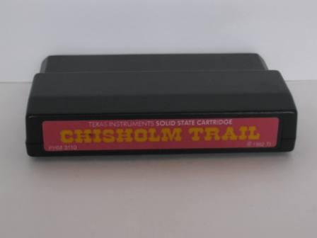 Chisholm Trail (Color Label) - TI-99/4A Game