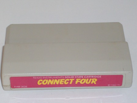 Connect Four (Color Label) - TI-99/4A Game