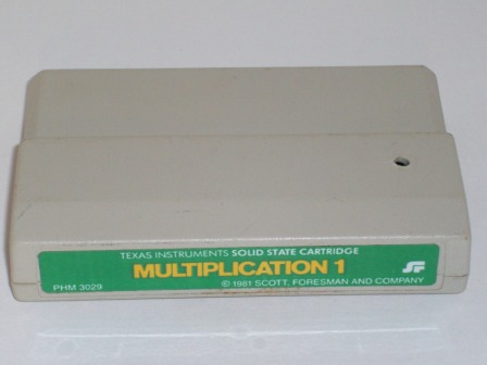 Multiplication 1 (Color Label) - TI-99/4A Game