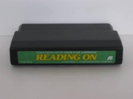 Reading On (Color Label) - TI-99/4A Game