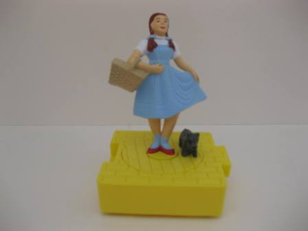 1997 Blockbuster - Dorothy and Toto - The Wizard of Oz - Toy