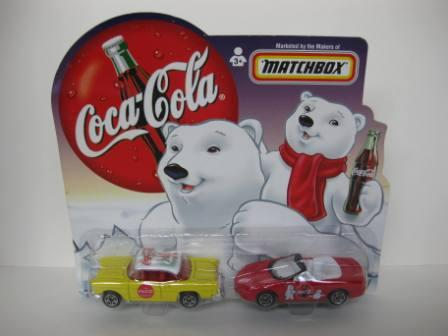 Coca-Cola Matchbox Cars (1999) - Toy